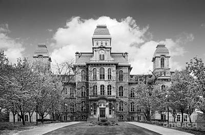 Syracuse University Photograph - Syracuse University Hall Of Languages by University Icons