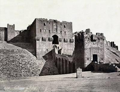 Aleppo Photograph - Syria Aleppo Fortress by Granger