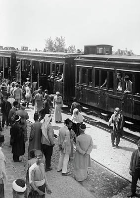 Photograph - Syria Train Station, C1910 by Granger