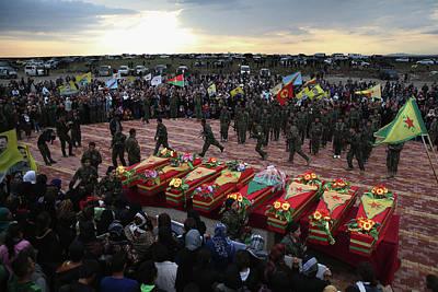 Photograph - Syrian Kurdish Republic Of Rojava by John Moore