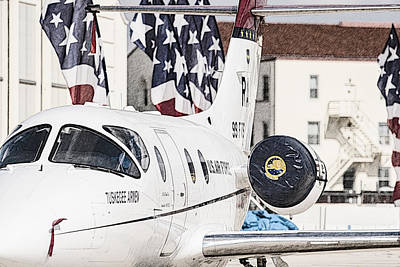 Photograph - T-1a Jayhawk by Melinda Ledsome