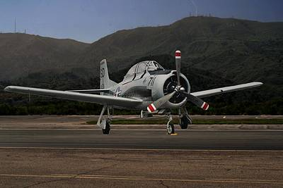 Photograph - T-28 Trojan Trainer by Michael Gordon