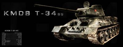 Photograph - T-34 Soviet Tank Bk Bg 2 by Weston Westmoreland