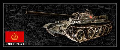 Photograph - T-54 Soviet Tank Bk-bg by Weston Westmoreland