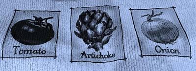 Artichoke Digital Art - T A O Cyan by Rob Hans