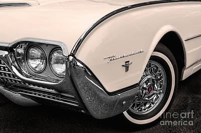 T-bird Fender Art Print by Jerry Fornarotto