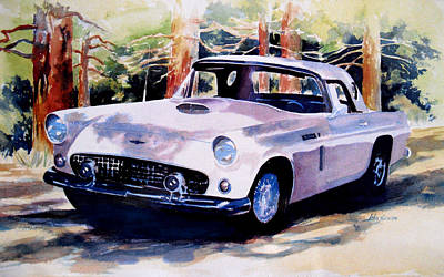 Painting - T Bird by John  Svenson