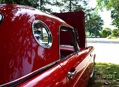 Photograph - Vintage Car - Opera Window T-bird - Luther Fine Art by Luther Fine Art
