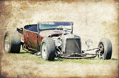 1927 Ford Roadster Photograph - T Bucket Rat by Steve McKinzie