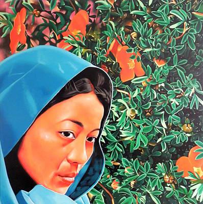 Gallerie Ak Painting - T Bv01 by Binoy Varghese
