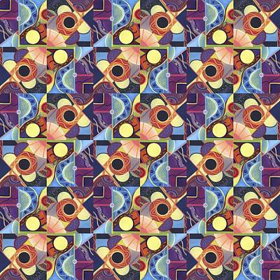 T J O D Tile Variations 11 Art Print