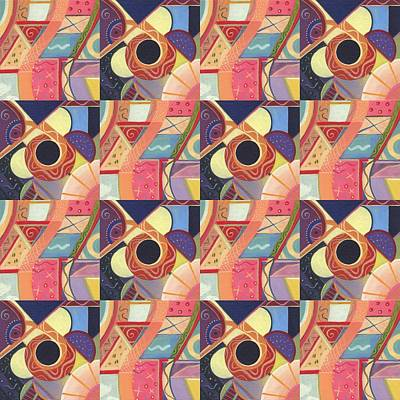 T J O D Tile Variations 19 Original by Helena Tiainen