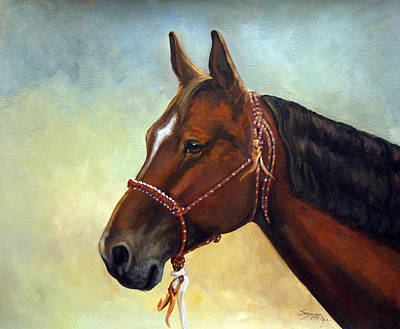 Painting - T. J. by Suzanne McKee