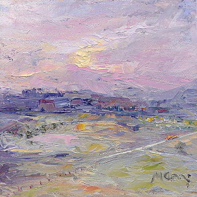 Marie Green Painting - T Junction by Marie Green