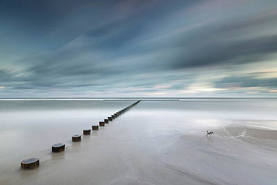 Shore Lines Photograph - T by Rafal Nebelski