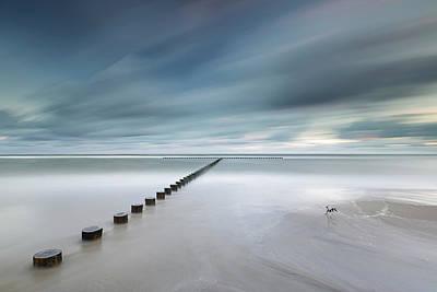 Coastline Photograph - T by Rafal Nebelski