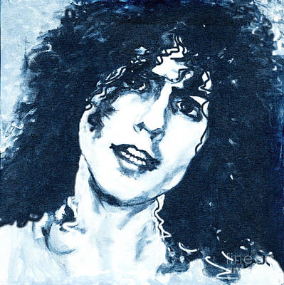 T. Rex Marc Bolan.  Acoustic Warrior Original by Tanya Filichkin