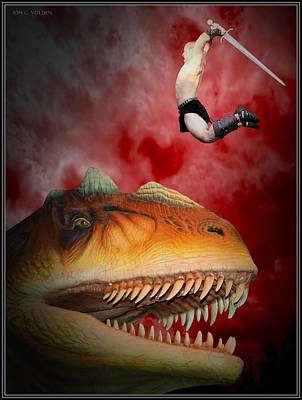 Photograph - T Rex Slayer by Jon Volden