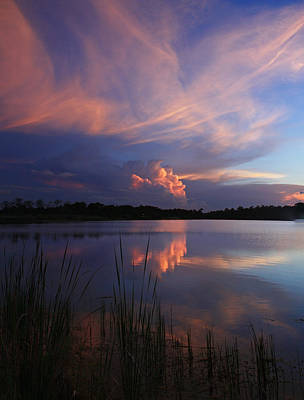 Sunset Wall Art - Photograph - T Storm Reflection by Cliff Cammarata