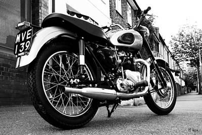 Harley Davidson Photograph - T110 by Mark Rogan