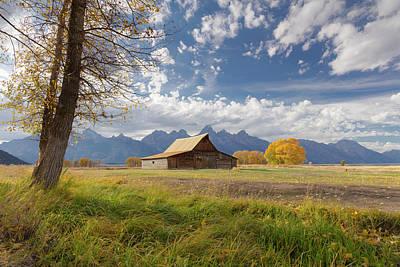 Drought Wall Art - Photograph - Ta Moulton Barn, Mormon Row, Grand by Maresa Pryor