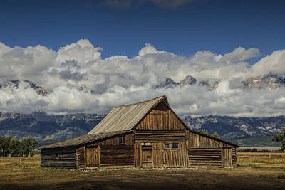 Brown Tones Photograph - T.a. Moulton Barn On Mormon Row In The Grand Tetons by Randall Nyhof