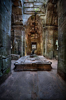 Photograph - Ta Phrom by Brad Grove