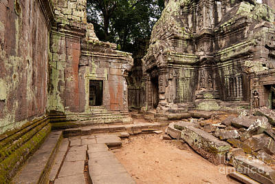 Photograph - Ta Prohm Temple 02 by Rick Piper Photography