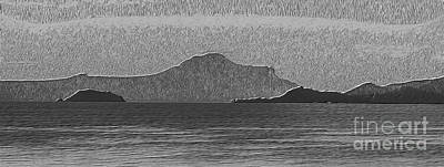 Photograph - Taal Volcano Abstract by Michael Arend
