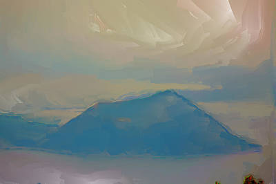 Photograph - Taal Volcano by Christopher Rowlands