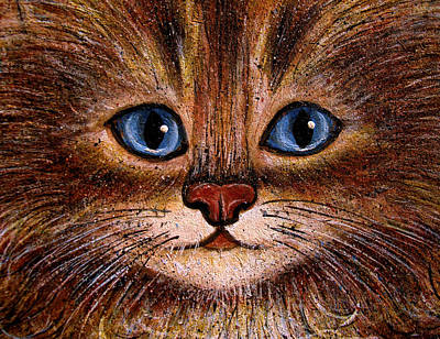 Orange Tabby Painting - Tabby by Natalie Holland