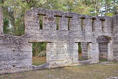 Photograph - Tabby Ruins by Gordon Elwell