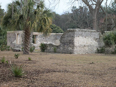 Photograph - Tabby Ruins by Paula Rountree Bischoff