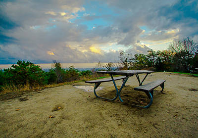 Photograph - Table by Brian MacLean
