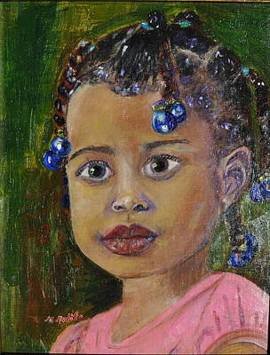 Painting - Tabitha by MaryAnne Ardito