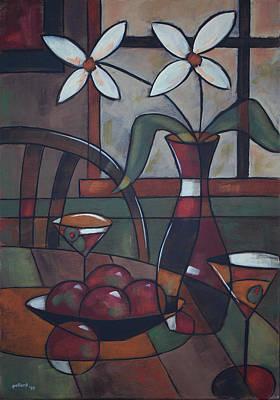Martini Paintings - Table 42 by Glenn Pollard