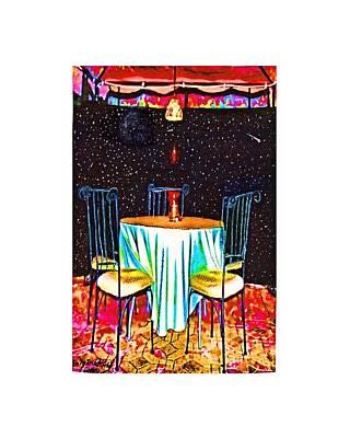 City Scenes - Table at Maximilians by Tommi Trudeau