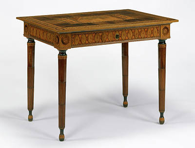 Wood Table Drawing - Table Giuseppe Maggiolini, Italian, 1738 - 1814 Italy by Litz Collection
