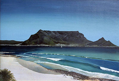 Table Mountain Painting - Table Mountain by Andre Pillay