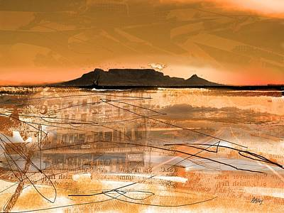 Table Mountain Journal Art Print by Andre Pillay