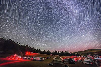 Observer Photograph - Table Mtn Star Party Circumpolar Star by Alan Dyer