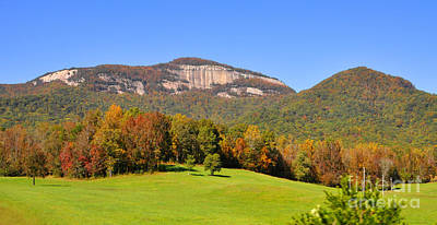 Table Rock In Autumn Art Print