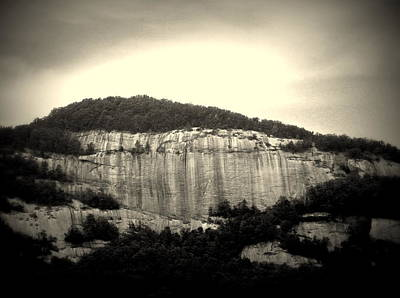Photograph - Table Rock In South Carolina by Kathy Barney