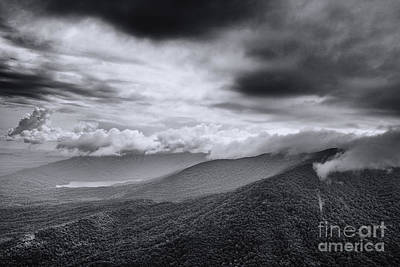 Photograph - Table Rock-more Clouds by David Waldrop