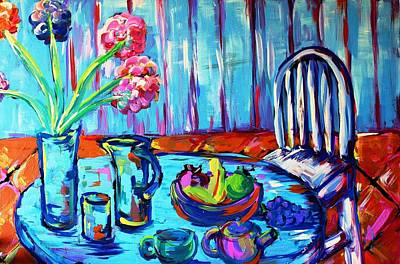 Painting - Table Setting  by Mark Watson