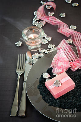 Table Settings Print by Mythja  Photography