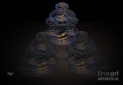 Digital Art - Table Top Design by Melissa Messick