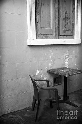 Photograph - Table Under The Window by John Rizzuto