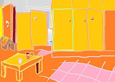 Tangerine Painting - Tableau by Anita Dale Livaditis