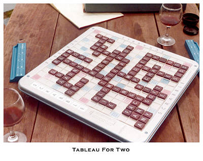 Photograph - Tableau For Two by Lorenzo Laiken